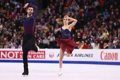 EN IMAGES. Danse sur glace : l'époustouflante prestation du couple français
