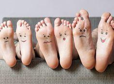 Treat cracked feet with avocado and banana! | 10 Hacks That Will Make Your Feet Feel Like Heaven On Earth: http://bzfd.it/1zbW4KU