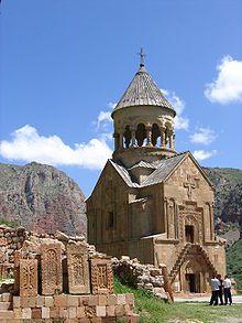 "Noravank (Meaning ""New Monastery"" in Armenian) is a 13th-century Armenian monastery."