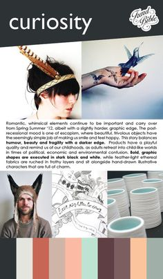 Trend Bible : Lifestyle Trends for the Home Autumn/Winter 2012-2013 - CURIOSITY