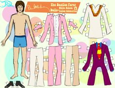 PAUL MCCARTNEY PAPER DOLL 3 by 89000007ANL.deviantart.com on @deviantART
