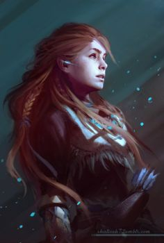 "shalizeh7: ""Aloy from Horizon Zero Dawn. There's a game that makes me want to buy a PS4. """