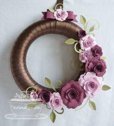 Spring Wreath by stampinjewelsd - Cards and Paper Crafts at Splitcoaststampers