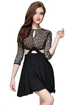 My Wonderful World Women's Hollow Floral Lace A-line Midi Dress Small Black My Wonderful World Dresses http://www.amazon.com/dp/B0188X3X5E/ref=cm_sw_r_pi_dp_uRUtwb1SB6NCC