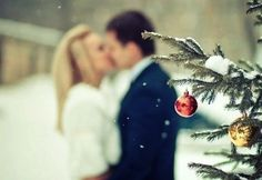 Cute Christmas picture idea...if you have a good camera:)