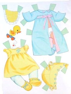 Paper Dolls~Baby Tender Love – Bonnie Jones – Picasa Nettalbum