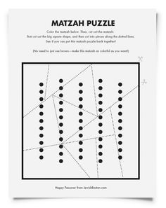 Downloadable Passover Activity Pages for Kids | Jewish Boston Blogs