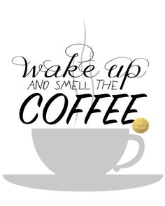 Wake Up and Smell The Coffee by DesignedinHisImage on Etsy
