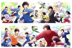 Captain Tsubasa, Good Soccer Players, Old Boys, Anime, Carp, Video Game, Fanart, Youth, Cartoon