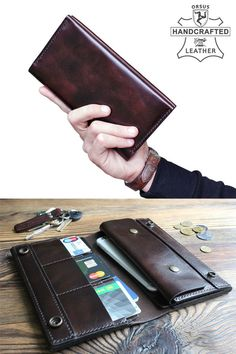 accessories wallet Mens long wallet personalized Long wallet with coin purse Leather purse Leather long wallets for men Checkbook wallet Travel wallet for him Mens Long Leather Wallet, Long Wallet Men, Handmade Leather Wallet, Men Wallet, Mens Travel Wallet, Cheap Purses, Cute Purses, Handbags Online, Purses And Handbags