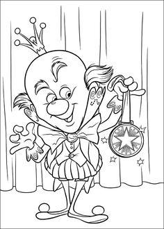 Dibujos para Colorear Rompe Ralph 50