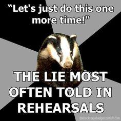 My theatre teacher in a nutshell