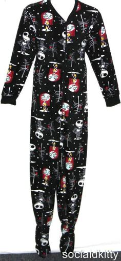 XXL~2X~DISNEY~punk/gothic~NIGHTMARE before CHRISTMAS~onesie~PAJAMAS~torrid JEWEL