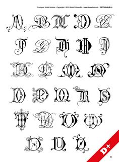 Initials tattoo – 66 photos | VK