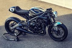 75 Amazing Street Triple R Café Racer Project Images Cafe Racers