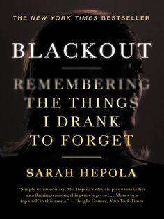 Blackout- finished 2/6/17.  Heightened my understanding of Blackouts. Enjoyed Sarah Hepola's YouTube.