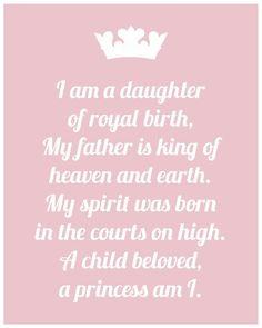 Prachtige text voor een dochter