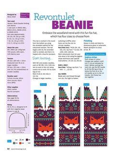 "Совместное вязание рукавичек с лисичками. ""Лисья норка."" | Вязание. Жаккард - ""Зимняя радуга"" Fair Isle Knitting Patterns, Fair Isle Pattern, Knitting Charts, Knitting Stitches, Knit Mittens, Knitting Socks, Baby Knitting, Knitted Hats, Crochet Hats"