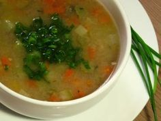 Receita de Sopa de legumes light - Tudo Gostoso