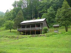 Butcher Holler, Kentucky - former home of Loretta Lynn