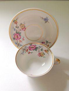 Vintage Johann Haviland Bavaria Tea Cup and by MariasFarmhouse