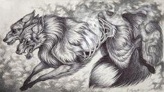 Ablaze Art Print by Caitlin Hackett | Society6