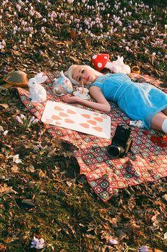 Alice in Wonderland by Benedict., via Flickr