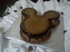 Disney Groom S Cake | chocolate buttercream with chocolate ganache