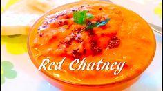 Red Chutney / Kara Chutney / Chilli Chutney - Tasty Appetite