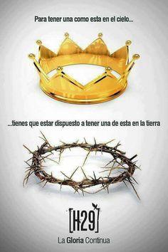Vc ecolhe a coroa de ouro ou a coroa de espinhos ???