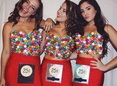 Kaugummiautomat Kostüm selber machen | Kostüm Idee zu Karneval, Halloween & Fasching