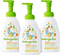 Babyganics Baby Shampoo + Body Wash Pump Bottle, Fragrance Free, 3 Pack, Packaging May Vary Baby Skin Care, Baby Care, Amazon Subscribe And Save, Baby Soap, Perfume, Baby Shampoo, Baby Supplies, Free Baby Stuff, Unisex