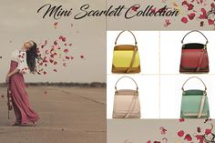 The Mini Scarlett Collection is here and ready for you to wear it! Cappuccino, Bordeaux, Nude or Mint?