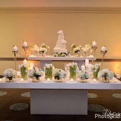 WHITE & GOLD wedding  Novias Otilio Santiago