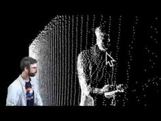 Raw Depth Data - Point Clouds and Thresholds - Kinect and Processing Tutorial Point Cloud, Tech Art, Cloud Art, Clouds, Concert, Wood Work, Vr, Thesis, Graphic Design