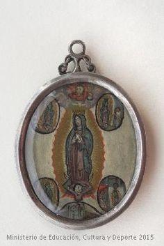 Medallón de la Virgen de Guadalupe. CE02077