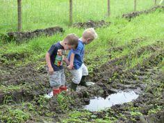 We love mud.