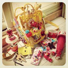 投稿《What's in your Kånken bag ?! 》徵件活動-by KaiKai Huang  款式: Kanken mini 溫暖黃  說明: 小小的,卻足夠裝滿滿滿我的最愛