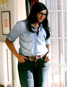 Jean Kind of Weekend Photo - The Mindy Project Style: Mindy Lahiri's Best Looks Ever!