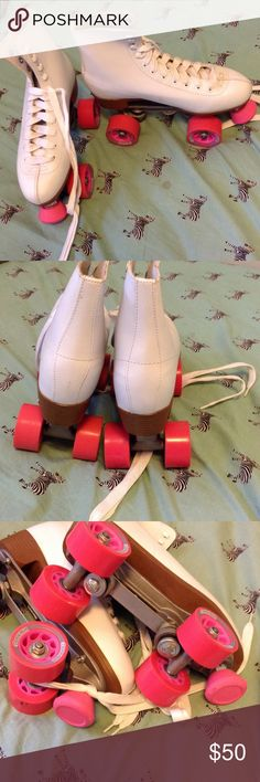 Rink skates! Brand new! Gifted to me, but I use a shorter boot skate. Other