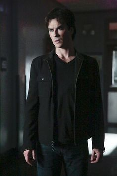 """The Vampire Diaries -- """"This Woman's Work"""" -- Image Number: -- Pictured: Ian Somerhalder as Damon -- Photo: Carin Baer/The CW -- © 2016 The CW Network, LLC. All rights reserved. Vampire Diaries Stefan, Vampire Diaries Ending, Vampire Diaries Season 7, Serie The Vampire Diaries, Vampire Diaries Fashion, Ian Somerhalder Vampire Diaries, Vampire Diaries Quotes, Vampire Diaries Wallpaper, Vampire Diaries The Originals"""