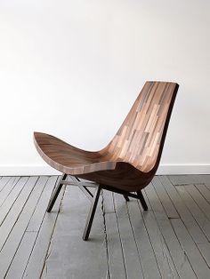 Cadeira de Madeira Water Tower. Designer: Bellboy.