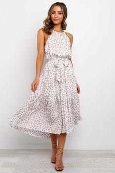Pink Formal Dresses, Long Summer Dresses, Casual Dresses For Women, Teen Dresses, 60s Attire, Filipiniana Dress, Midi Sundress, Sundresses, Organza Dress