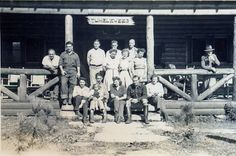 """The Gang"" Tumbleweed Guest Ranch, Westkill, NY 1943"