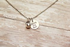 Swing My Bell Kettle Bell Hand Stamped Fitness by BeastModeJewelry