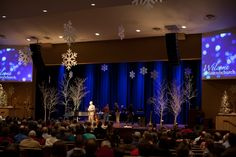 Christmas stage design @firstmbchurch, 2011