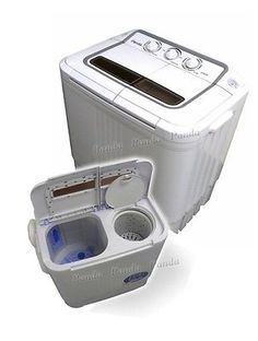 Panda Portable Small Compact Washing Machine Washer with Spin dryer in Home & Garden, Major Appliances, Washers & Dryers | eBay