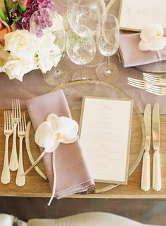 A printed menu really ups the ante and makes a wonderful keepsake for your…