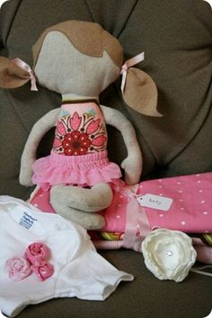 diy fabric doll and cute gift ideas for baby girl