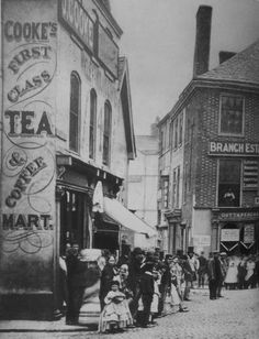 Early photograph of Eastgates Knotty Alder, Back In Time, Leicester, Old Houses, Gates, Vintage Photos, Photographs, Old Things, England